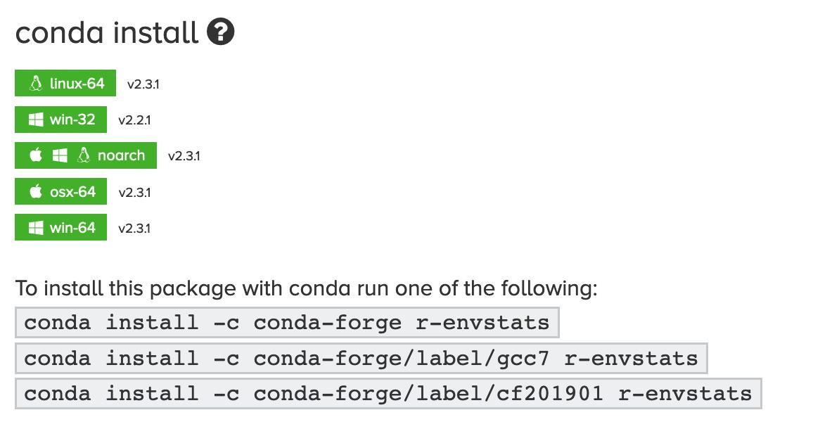 R] anaconda를 이용한 R package 설치 - junn net